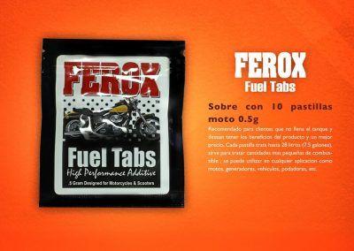 Sobre Ferox 0.5 gr moto
